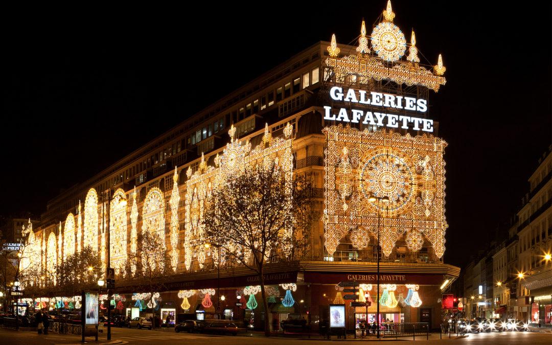 Galeries Lafayette: Luminarie