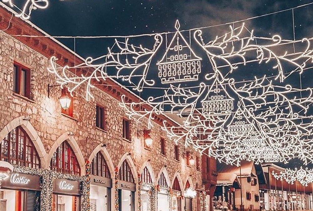 Christmas Lights: St. Moritz